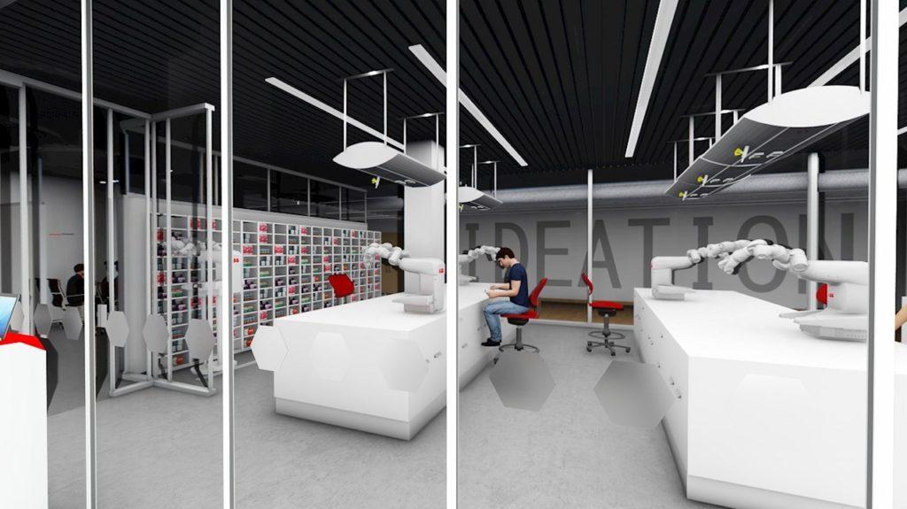 ABB robotika nemocnice budoucnosti